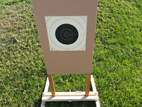 ITM. Paper Target Holder Stand ~ Gun ~ Shooting ~ Sighting ~ Firearm