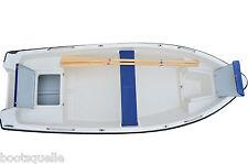 Ruderboot,Motorboot Angelboot Gleiter 4,00m   (ILKA mit Reling)