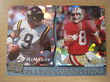 1993 PRO SET COLLEGE CONNECTIONS JIM MCMAHON STEVE YOUNG BYU BRIGHAM YOUNG BEARS