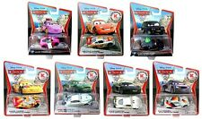 Disney Cars 2 KMart Day 9 Set of 7 Rubber Tires Mary Esgocar Alexander Hugo Hat!