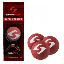 Gearbox Red Racquetballs - Fastest ball