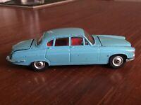 Corgi Toys 238 Jaguar Mark X - ( MK 10 ) - Light Blue