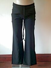 STYLING MATERNITY SMART BLACK UNDER BUMP BOOTCUT WORK TROUSERS SIZE 6 8 10 12 14