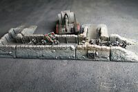 6 pieces Trench terrain scenery for warhammer 40k and other 28mm Wargame