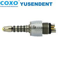 COXO Dental Fiber Optic High Speed Turbine Handpiece Sirona R/F LED Coupling