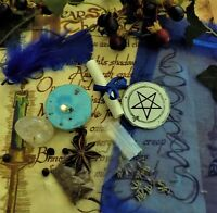Healing Spell Kit  Ritual Magic  Witchcraft Wicca Pagan Handmade Candle