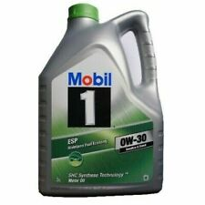 MOBIL 1 OIL FULLY SYNTHETIC ESP 0W30 0W-30 5L