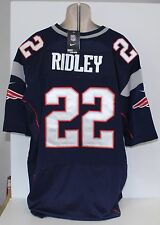 New England Patriots Stevan Ridley Nike On Field Blue Sewn Jersey Size 56 NWT