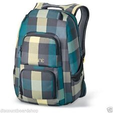 "Dakine JEWEL 26L 1600 Plaid Padded 14"" Laptop Sleeve Pockets Backpack School Bag"