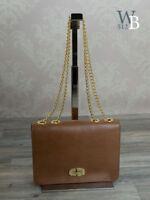 Ital. Abendtasche Ledertasche Galatasche Umhängetasche Clutch Leder Taupe 632T