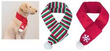 Winter Holiday Scarf for Dog, perfect for walking in a winter wonderland S - L