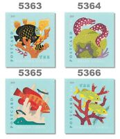 5363 5364 5365 5366 Coral Reefs 35c Sheet Singles Set 4 From 2019 MNH - Buy Now