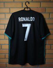 Real Madrid football shirt  #7 Ronaldo 2017-2018 Away jersey soccer 2XL Adidas