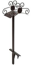Garden Water Hose Storage Stand Holder Decor Steel Heavy Duty Lawn Anchor Stake