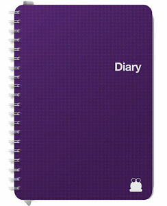 Diary A5, A4 2021 Formats: Week to View & Day to Page, 2 days Per Page: Mid Year