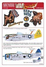 Kits-world KW148088 1/48 P-47 thunderbolt model decals