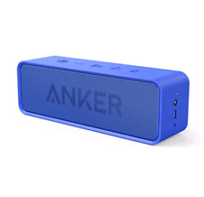 Genuine Anker SoundCore Portable Bluetooth Speaker BLUE Boom Box Loud Bass