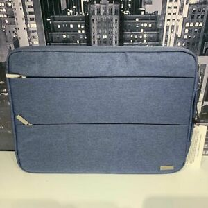 """Laptop Sleeve Bag Case with Handle Dell HP MacBook Air 14"""" 14.1"""" 15"""" 15.6"""" Blue"""