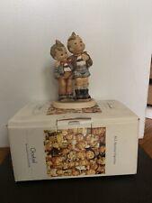 hummel goebel figurines #123 Max And Moritz and #386 On Secret Path
