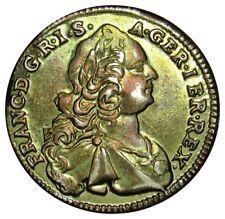 Austria 1 Ducat TOKEN coin 1752 CA brass made TOKEN modern mint for kids