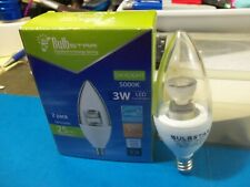 BULB STAR LED CANDELABRA BASE, WOW, ONLY 3W (DIMMABLE), 5000K DAYLIGHT