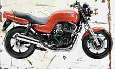 Honda CB SevenFifty 2002 Aged Vintage SIGN A4 Retro