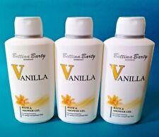 Bettina Barty Vanilla  Bath & Shower Gel Duschgel  3 x 500 ml