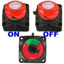12V 24V MARINE REMOVABLE KNOB Battery Isolator Switch Cut off Power Kill Switch