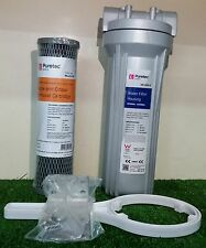 FILTAFLO TASTE & ODOUR FILTER PACKAGE Incl HOUSING, CARTRIDGE, BRACKET & WRENCH