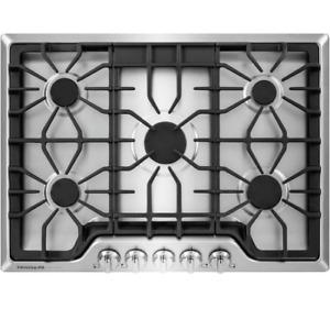 Frigidaire Gallery 30 in. Stainless Steel 5-Burner Gas Cooktop