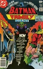BATMAN FAMILY #15 VG/F, BATGIRL, ROBIN, Michael Golden A, DC Comics 1978
