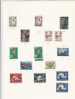 yugoslavia stamps page ref 16824