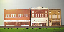 HO scale WEST COLUMBUS 2 background building flat