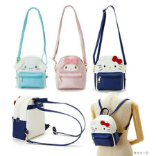 Cute Women Girl's Backpack Kuromi Melody Cinnamoroll Pompompurin Crossbody Bag
