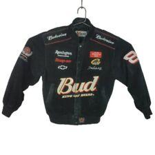 Medium Dale Earnhardt Jr. Budweiser NASCAR Jacket Winston Cup Remington Snap On