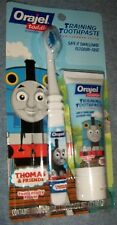 Thomas and Friends Orajel Training Toothbrush and Toothpaste New FREE SHIP