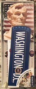 Fandex Washington D.C. Educational Travel History Trivia Info USA Capitol Fun !