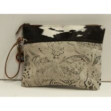 Canvas and Leather Unisex Tablet Pouch