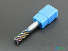 Fräser VHM Schaftfräser Vollhartmetall 6F D10x10x25x75-Ta-C 1St. NEU Rainbow