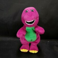 "Barney The Purple Dinosaur Plush 7"" Bean Bag Stuffed Animal Gund  Toy"