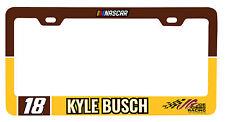 NASCAR #18 KYLE BUSCH PLATE FRAME-NASCAR Tag Frame