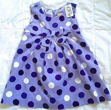 NWT TCP purple corduroy jumper w/ bloomers Sz 24M polka dot
