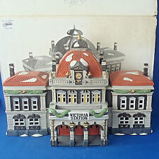 Dept 56 Victoria Station Dickens Villiage Series 5574-3 porcelain house 1996