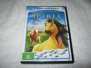 Spirit - Stallion of the Cimarron - VGC - DVD - R4
