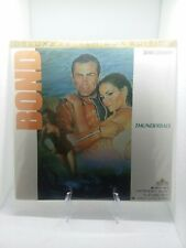 JAMES BOND THUNDERBALL (DELUXE LETTER-BOX EDITION) MGM LASER DISC