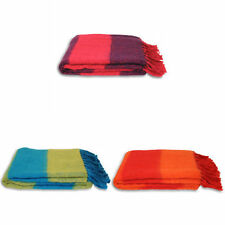 Acrylic Striped Decorative Throws