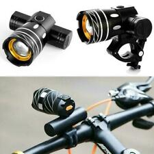 Rechargeable Bicycle Lights Bike Front+Rear15000LM XM-L T6 LED MTB Headlight UK