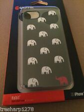 Griffin Technology Iphone 5 Case Cover Habit Tusk Cabana Black/White NEW