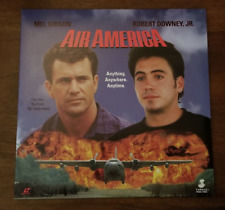 LASERDISC Movie: AIR AMERICA - Mel Gibson, Robert Downey, Jr.  - Collectible