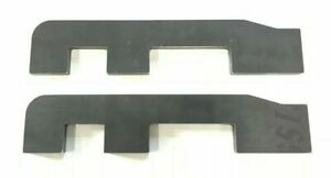 """Skid Steer Quick Attach Lower Mount Plate 1/2"""" Bobcat Style Bucket Attachment"""